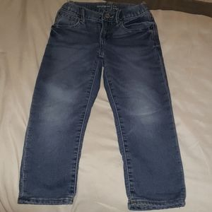 Jersey lined jeans